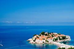 Sveti Stefan Insel in Budva, Montenegro Lizenzfreie Stockfotografie