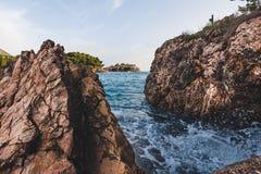 Sveti Stefan Insel in Montenegro Lizenzfreie Stockfotografie