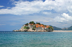 Sveti Stefan island Royalty Free Stock Photography