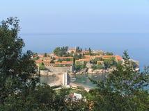 Sveti Stefan island Royalty Free Stock Image