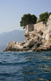 Sveti Stefan island Stock Photography