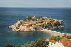 Sveti Stefan island Royalty Free Stock Images