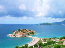 Sveti Stefan island, Montenegro Royalty Free Stock Photo