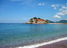 Sveti Stefan island, Montenegro Royalty Free Stock Photos