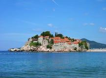 Sveti Stefan island, Montenegro Stock Photography