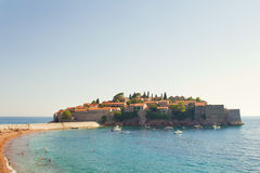 Sveti Stefan Stock Photography