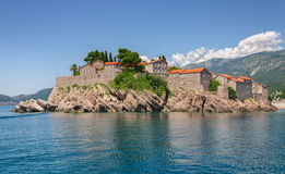 Sveti Stefan island Stock Image