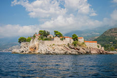 Sveti Stefan island, Montenegro. Stock Photo