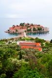 Sveti Stefan Island, Montenegro Stock Photos