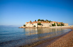 Sveti Stefan island-resort Royalty Free Stock Image