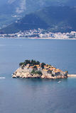 Sveti Stefan island-resort, Montenegro Royalty Free Stock Photo