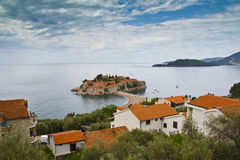 Sveti Stefan island-resort, Montenegro Royalty Free Stock Images