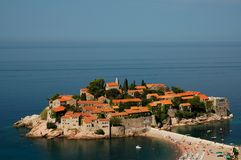 Sveti Stefan island / Saint Stefan island royalty free stock photo