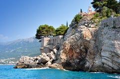 Sveti Stefan Island Royalty Free Stock Photos
