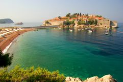 Sveti Stefan, Montenegro Stock Photos