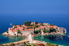 Sveti Stefan, Montenegro Royalty Free Stock Photography