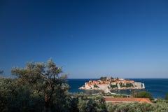 Sveti Stefan, Montenegro imagen de archivo