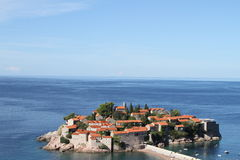 Sveti Stefan Montenegro Royalty-vrije Stock Fotografie