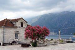 Sveti Stefan, Montenegro Foto de Stock Royalty Free