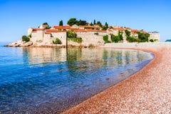 Sveti Stefan, Montenegro Lizenzfreies Stockbild