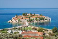Sveti Stefan, Montenegro Immagine Stock Libera da Diritti