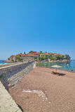 Sveti Stefan, Montenegro Fotografia Stock Libera da Diritti