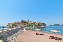 Sveti Stefan, Montenegro Fotografie Stock