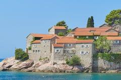 Sveti Stefan, Montenegro Fotografia Stock
