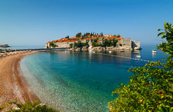 Sveti Stefan, Montenegro Stock Photos