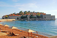 Sveti Stefan, Montenegro. Royalty Free Stock Photography