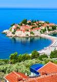 Sveti Stefan, Montenegro Stock Image