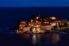 Sveti Stefan resort Royalty Free Stock Photo