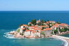 Sveti Stefan resort Royalty Free Stock Photography