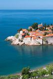 Sveti Stefan resort Stock Images
