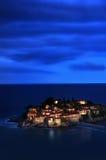 Sveti Stefan resort island Royalty Free Stock Photography