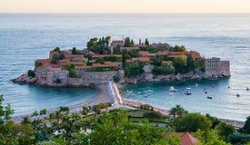 Sveti Stefan resort in Montenegro Royalty Free Stock Image