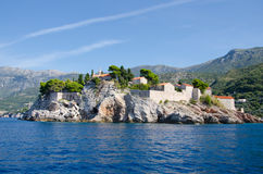 Sveti Stefan Royalty Free Stock Photography