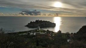 Sveti Stefan. Sveti stefa, a town in Montenegro Royalty Free Stock Photos