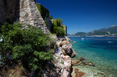 Sveti Stefan Wide Royalty Free Stock Photo