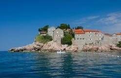 Sveti Stefan wyspa w Budva Zdjęcia Royalty Free