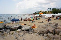 Sveti Vlas plaża Zdjęcia Royalty Free