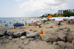 Sveti Vlas strand Royaltyfria Foton