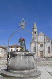 Svetincenat in Istria immagine stock libera da diritti