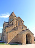 Svetitskhoveli Cathedral. In Mtskheta, Georgia Stock Image
