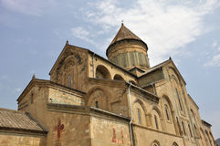 Svetitskhoveli Cathedral. Is a Georgian Orthodox cathedral located in the historical town of Mtskheta, Georgia Stock Photos