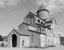 Svetitskhoveli Cathedral in Mtskheta Royalty Free Stock Photos