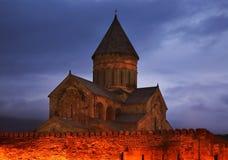 Svetitskhoveli Cathedral in Mtskheta. Georgia Stock Images