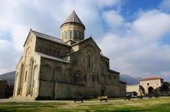 Svetitskhoveli Cathedral in Mtskheta,Georgia, unesco Stock Photo