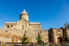 Svetitskhoveli Cathedral Stock Photo