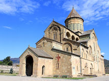 Svetitskhoveli Kathedrale in Mtskheta stockfoto